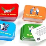 Игровые карточки Крысиные бега 1